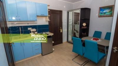 Мини-кухни сплёночными фасадами