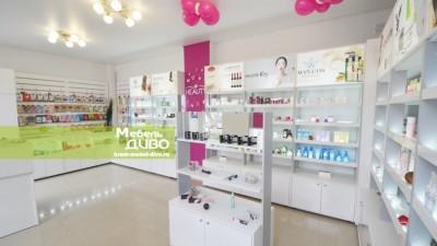 Витрины для сети магазинов корейской косметики KEAUTY