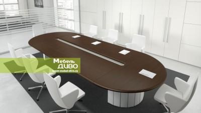 Овальный стол для переговоров