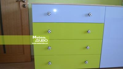 Яркая детская мебель назаказ