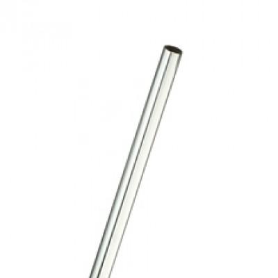 Труба нарейлинг D-16 мм, длина 3м Хром 0,7мм